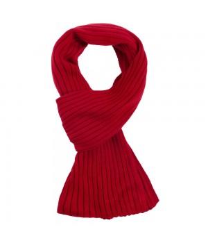 Шарф Stripes, красный