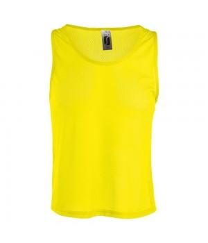 Майка ANFIELD, лимонно-желтая