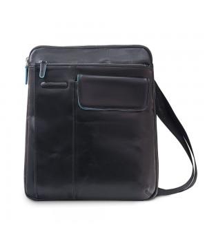 Сумка планшет мужская Piquadro Blue Square, черная