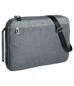 Конференц сумка 2 в 1 twoFold, серый с темно-серым