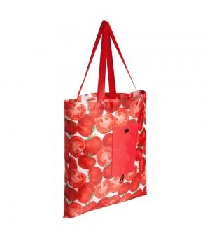 Складная сумка для покупок «Продукты», томат