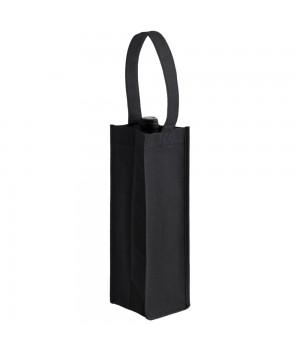 Сумка для бутылки «Венето», черная