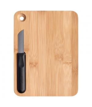 Разделочная доска и нож