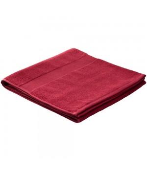 Полотенце махровое Large, бордовое, плотность 400 г/м²