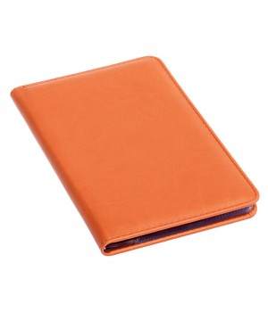 Визитница Brand, оранжевая