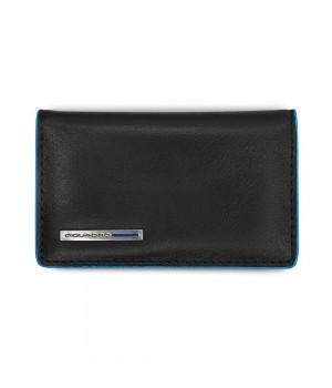 Чехол для кредитных и визитных карт Piquadro Blue Square, черный