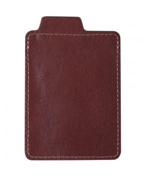 Футляр для кредитной карточки Security, бордовый