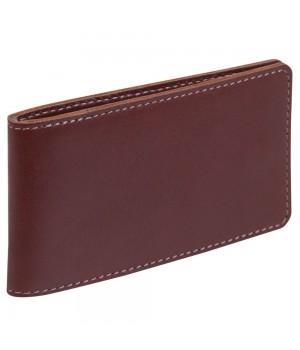 Футляр для кредитных карт Security, бордовый