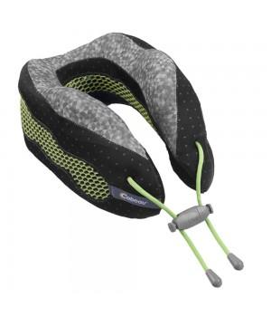 Подушка под шею для путешествий CaBeau Evolution Cool, черная с серым