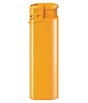 Зажигалка пьезо FLAMECLUB, многоразовая, желтая