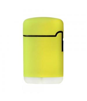 Зажигалка Zenga, турбо, многоразовая, желтая
