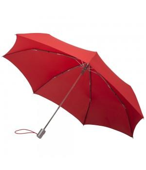 Зонт Alu Drop, полуавтомат, красный