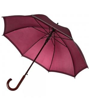 Зонт Unit Reflect, бордовый